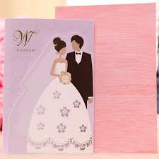 groom and groom wedding card 50 pieces lot and groom wedding invitations