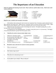 ideas collection reading comprehension worksheets high for