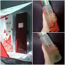 Sk Ii Wpss review sk ii fte clear lotion wall of the world