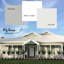 grey houses with white trim australia google search exterior