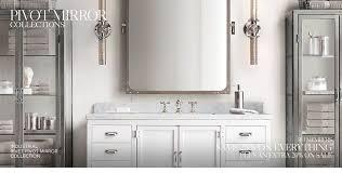 Pivot Bathroom Mirror Brilliant Pivot Bathroom Mirror For Oval New Shop Mirrors At Lowes