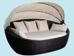divano giardino divano letto rattan prendisole guscio arredo giardino arredamento