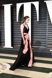 Vanity Johnson Dakota Johnson At 2017 Vanity Fair Oscar Party In Beverly Hills