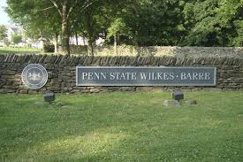 Penn State Campus Map by Entrance To Penn State Wilkes Barre Penn State Wilkes U2011barre