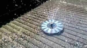 Solar Floating Pond Lights by Magicfly 7v 1 4w Solar Power Fountain Pond Water Pump Youtube