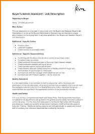 Merchandiser Job Description For Resume by Office Assistant Job Description For Resume Free Resume Example