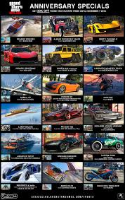 gta online halloween specials anniversary bonuses new vehicles