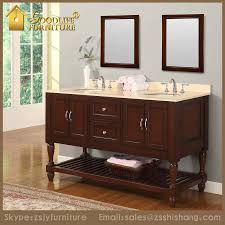 All Wood Bathroom Vanities by Style Solid Wood Double Sink Bathroom Cabinet Vanity Buy Bathroom