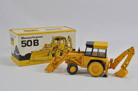 scarce conrad 1 35 scale massey ferguson 50b allrad backhoe loader