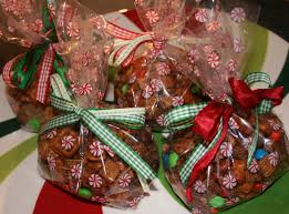 christmas and homemade holiday gift idea honey glazed snack mix