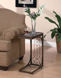 Sofa End Table by Tall Narrow End Tables Save More Space With Narrow End Table
