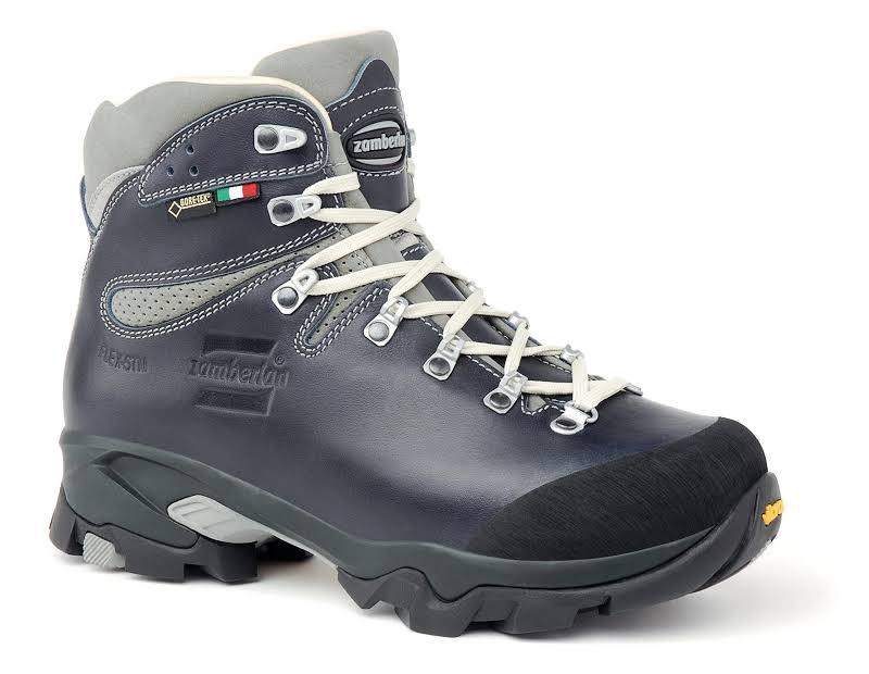 Zamberlan Vioz Lux GTX RR Backpacking Boots Waxed Blue Medium 8 1996BLW-Medium-8