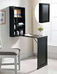 Folding Wall Mounted Table Amazon Com Southern Enterprises Fold Out Convertible Desk 22