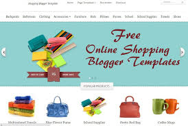 15 new free online shopping store e commerce blogger templates