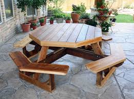 Woodworking Plans For Octagon Picnic Table by Cedar Creek Woodshop Porch Swing Patio Swing Picnic Table