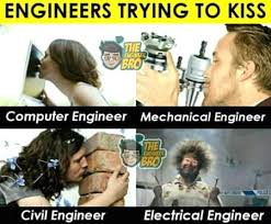 Electrical Engineer Meme - engineers trying to kiss funny