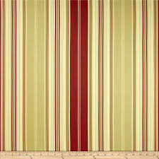 Lightweight Fabric For Curtains Waverly Down The Lane Stripe Twill Crimson From Fabricdotcom