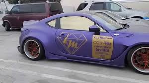 custom subaru brz wide body lux motion impressive wrap widebody scion subaru frs brz youtube
