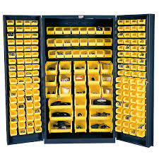 48 Storage Cabinet 48 Wide Metal Storage Cabinet 4 Deep Box Door 192 Bins Sjc Bdlp