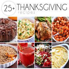 thanksgiving thanksgiving dinner recipes menu ideas