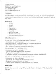 Auto Resume Maker Amazing Painting Resume Ideas Simple Resume Office Templates