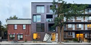 Seeking Montreal Leed Seeking Brick Building In Montreal Hides Funky Crystalline