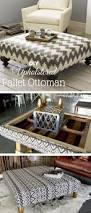 Upholstered Storage Ottoman Coffee Table Coffee Tables Small Upholstered Footstool Square Fabric Coffee