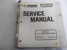 90 17308 1 mercury mariner outboard service manual 4 5 hp 102cc