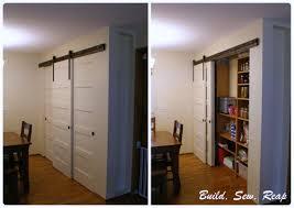 Closet Door Systems Remodelaholic 35 Diy Barn Doors Rolling Door Hardware Ideas