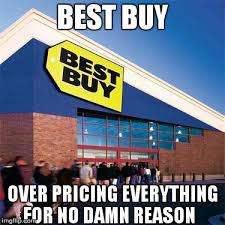 Best Buy Memes - best buy says iphone x costs 100 extra at full price because