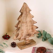 wooden tree wooden tree ornament