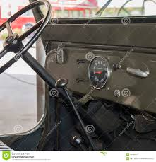 jeep dashboard dashboard of an old jeep stock photo image 46780201