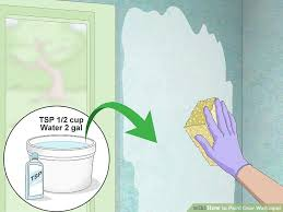 2 easy ways to paint over wallpaper wikihow