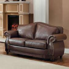 Leather Loveseats Sofas U0026 Loveseats Living Room Furniture The Home Depot