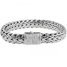 bracelet fine jewelry images John hardy sterling silver classic chain bracelet with diamond jpg