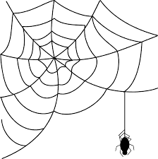 halloween clipart free black and white halloween spider web clipart free clipart images clipartix