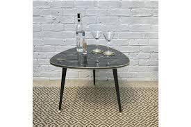 triangle shaped coffee table retro 50s triangle shaped coffee table vinterior