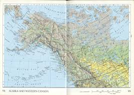 Map Of Canada And Alaska by Alaska And Western Canada Map Map China Map Shenzhen Map World Map