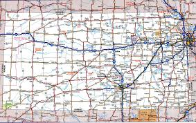 West Virginia Road Map by Kansas State Highway