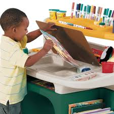 play desk for art master activity desk kids art desk step2