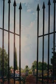 95 best garden scene window by
