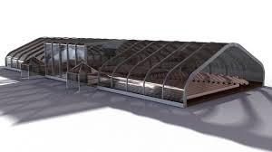 3d tent auditorium cgtrader