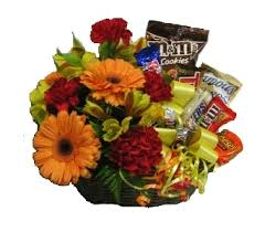 candy basket delivery junk food candy bouquets by christine s always uses name brand
