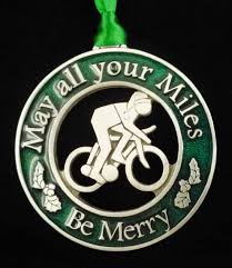 christmas ornaments for runners u0026 cyclists mytriathlonjewelry com