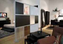 captivating livingoom partition wall bedroom studio apartment
