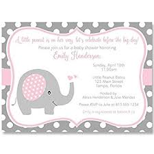 babyshower invitations elephant baby shower invitations sprinkle
