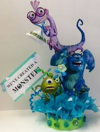 monsters inc baby shower decorations monsters inc baby shower cake toppers 25 best ideas about