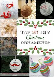 top 25 diy ornaments busy being