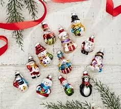 monogrammed personalized ornaments pottery barn