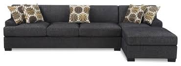 Reversible Sectional Sofa Impressive Modern 2pc Gray Reversible Sectional Sofa Chaise